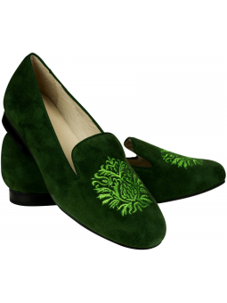 Elegant Loafer Alessia Darkgreen