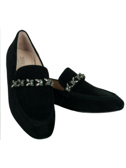 Crystal embellished slippers Nicoletta