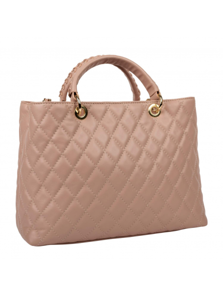 Quilted Tote Bag Louise Rose