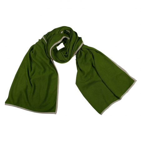 Cashmere stole Olive Green