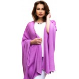 Poncho from pure Cashmere